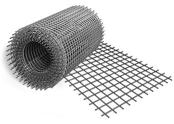 Сетка сварная 1000x15000x1.2 мм размер ячеек 10x10 мм фото