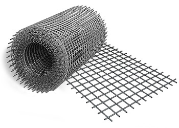 Сетка сварная 1000x50000x1.4 мм размер ячеек 25x125 мм фото