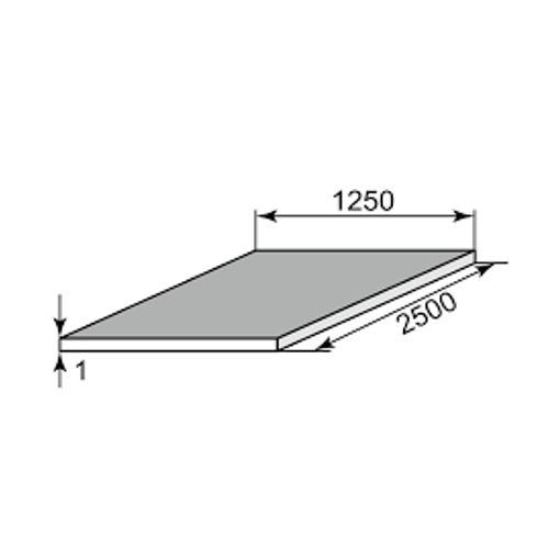 Лист стальной х/к 1x1250x2500 фото